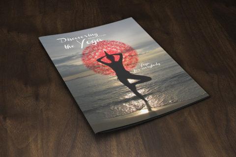 Folleto informativo clases de Yoga
